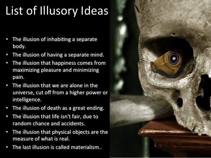 List of Illusory Ideas